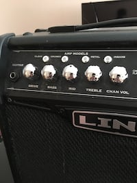 Line6 spider iv 15 watt guitar amplifier. In such a very good condition. Had to sell it bc I have no electric guitar anymore so there's no point of keeping this one Mississauga, L4Y 2J4