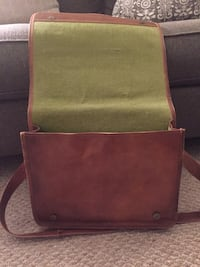 brown leather satchel Manchester township, 17406