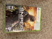 Sniper Ghost Warrior - Xbox 360  Regina, S4X 1J2