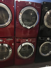 Maytag front load washer and dryer set in excellent condition