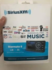 **REDUCED PRICE** SiriusXM Starmate 8 with vehicle kit Markham, L6C 2V7