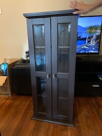 Wood DVD Cabinet