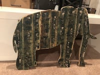 Rustic Wood Elephant Wall Decor Centreville, 20121