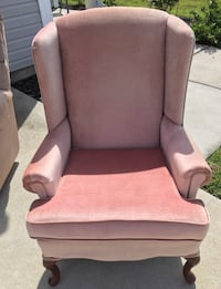 Pink/Mauve Wingback Chair Ladson, 29456