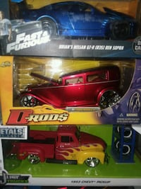 D-Rods By Jada 124.scale New in the Box 124.scale  Columbus
