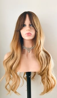 Long Gorgeous Golden Wig for Everyday Calgary, T2P