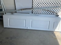 White Wood Closet Door
