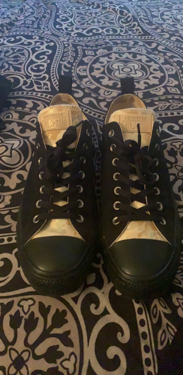 6577a33778c Used Chuck Taylor's Converse size 12 Brwn Camouflage and black for sale in  Las Vegas - letgo