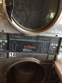gray front-load washer