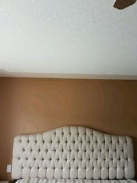 MOVING: white and brown wooden headboard Abbotsford, V2T 6V9