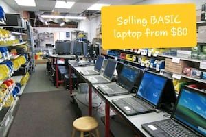 Selling cheap pc and laptops