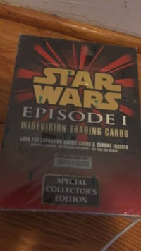 Never opened Star Wars Ep 1 traditions cards.  No negotiations.  I bought them and have held them for 20 some years. 39 km