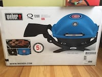 NEW Chicago Cubs Weber Q 1200 bbq propane limited special edition grill Q1200 Elk Grove Village, 60007