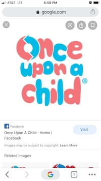 Once upon a child store card