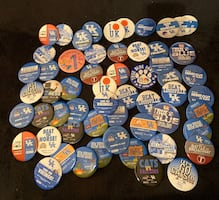 UK Basketball pins - large group - $25 for all