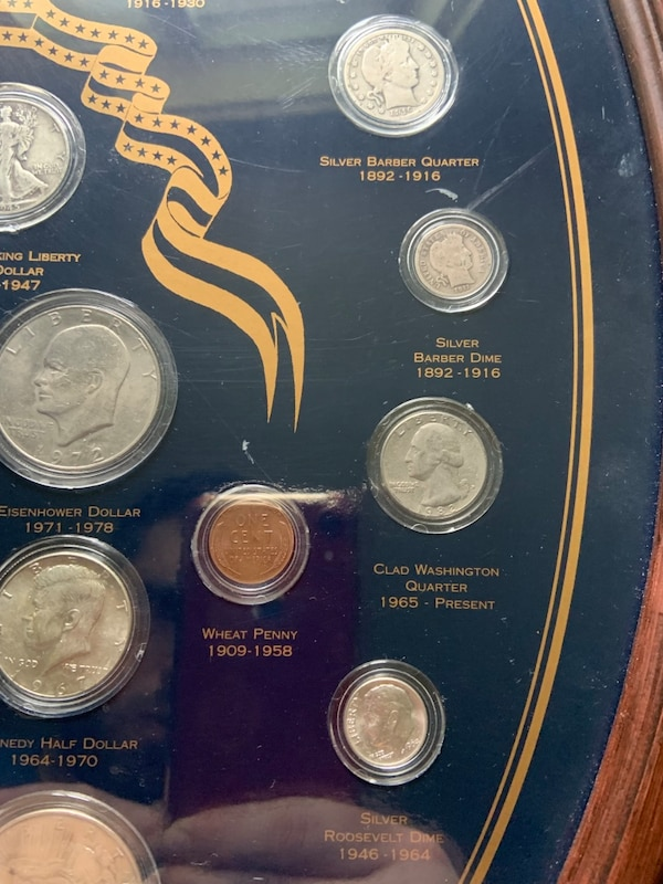 Over 150 Years of America's Coins/Silver