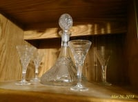 clear glass decanter set Glendale, 85308
