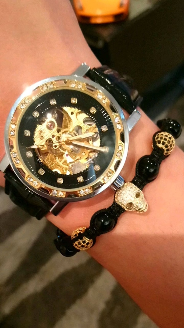 Ice out fully automatic luxury watch unisex  4484f0ce-b47e-4008-b595-4af6f6de25a0
