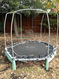octagonal black and green outdoor trampoline Frisco, 75033
