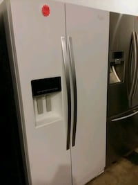 whirlpool side by side excellent condition 4months warranty