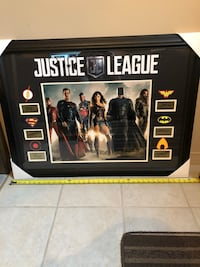 Justice League collectors picture frame
