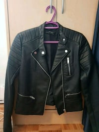 Zara Basic outerwear leather Jacket Toronto, M9W 5W1
