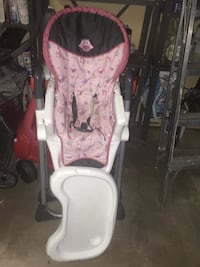 Highchair, Baby Bouncer, Exersaucer all $30 for all
