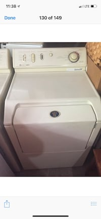 white front-load clothes washer Lincoln Park, 48146