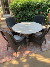 Outdoor stone Table and Chairs Los Angeles, 91316