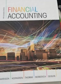 Financial accounting Pearson textbook Barrie, L4M 4H8
