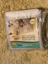 Breathable crib bumper Alpharetta, 30004
