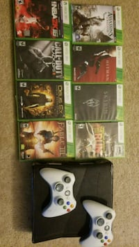 Xbox 360 with games Silver Spring, 20910