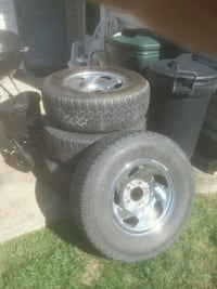 Ford tires and rims  Akron, 44301
