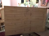 75 x 48 inches- Wooden sheet for sale -$20 Toronto, M1H 3H3