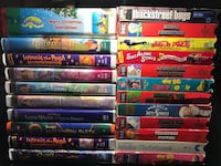 Lot VHS Tapes.