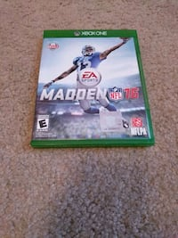 Madden NFL 16 Xbox One game case Anderson, 29621