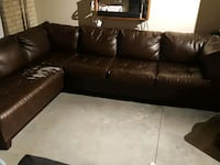 Leather Sectional couch Minneapolis, 55406