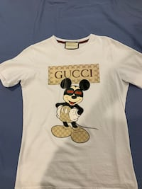 Mickey Mouse Gucci T-shirt Sz S