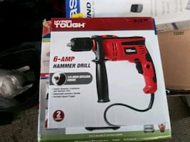 Hyper tough 6 - amp hammer drill.