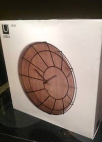 Brand new Umbra Caged Wall Clock  Portland, 97201