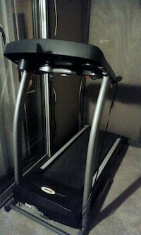 Triumph treadmill. Lightly used. We will take $100. It's lightly used. It still has the screen sticker.