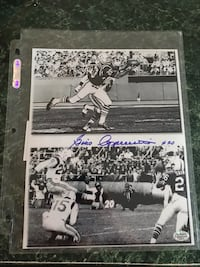 Gino Cappelletti autographed picture Portsmouth, 02871