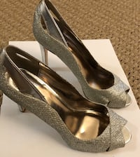 Silver Alfani Heels 7.5 Washington, 20006
