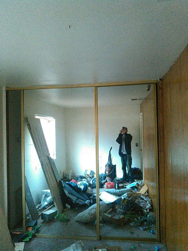 Used 8 Foot Tall Sliding Mirror Closet Doors For Sale In Sacramento