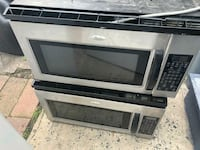 stainless steel and black microwave oven Passaic, 07055