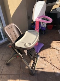 High chair. Hoop is sold. Fallbrook, 92028