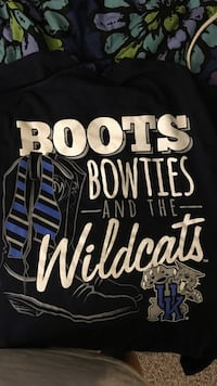 boots bowties and the wildcats Kentucky Wildcats-printed shirt Richmond, 40475
