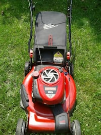 red and black Troy-Bilt push mower Chesapeake, 23322