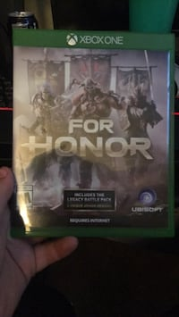 for honor the game xbox  1 good condition Fresno, 93726
