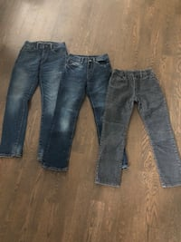 Boys jeans/cords - size 8 and 10 Toronto, M4K 3H4